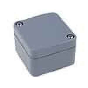 Krabička univerzální X:50mm Y:52mm Z:35mm ABS šedá IP65