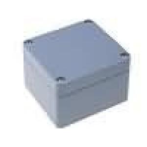 Krabička univerzální X:80mm Y:82mm Z:55mm ABS šedá IP65