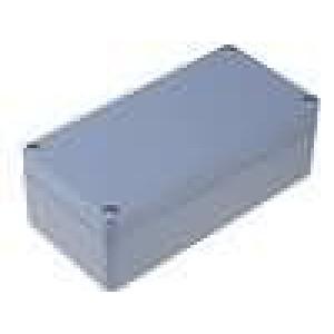 Krabička univerzální X:80mm Y:160mm Z:55mm ABS šedá IP65