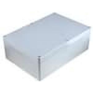 Krabička univerzální X:185mm Y:265mm Z:95mm ABS šedá IP65