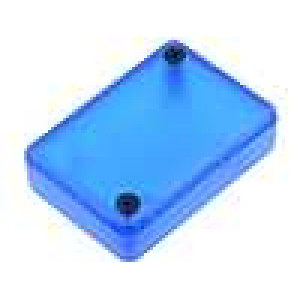 Krabička univerzální 1551 X:35mm Y:50mm Z:15mm ABS modrá IP54