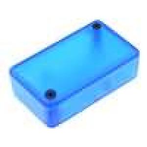 Krabička univerzální 1551 X:35mm Y:60mm Z:20mm ABS modrá IP54