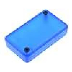 Krabička univerzální 1551 X:35mm Y:65mm Z:15mm ABS modrá IP54