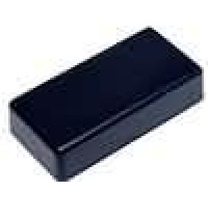 Krabička univerzální 1551 X:40mm Y:80mm Z:17mm ABS černá IP54