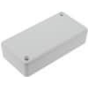 Krabička univerzální 1551 X:40mm Y:80mm Z:17mm ABS šedá IP54