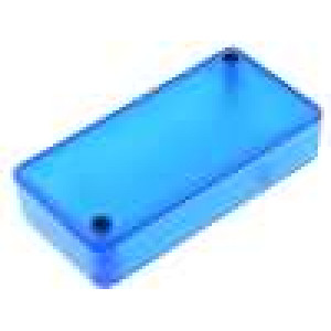 Krabička univerzální 1551 X:40mm Y:80mm Z:20mm ABS modrá IP54