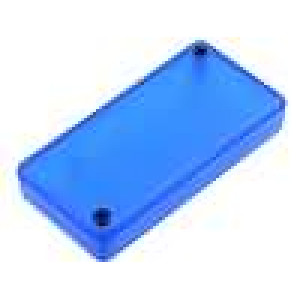 Krabička univerzální 1551 X:40mm Y:80mm Z:15mm ABS modrá IP54