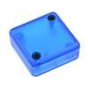 Krabička univerzální 1551 X:35mm Y:35mm Z:15mm ABS modrá IP54