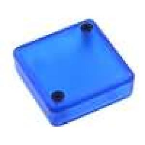 Krabička univerzální 1551 X:40mm Y:40mm Z:15mm ABS modrá IP54