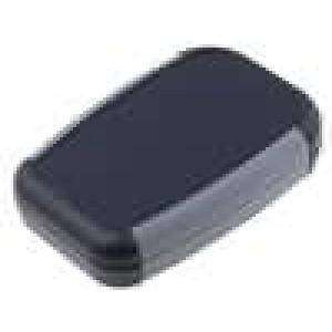 Krabička univerzální 1553 X:50mm Y:75mm Z:17mm ABS černá