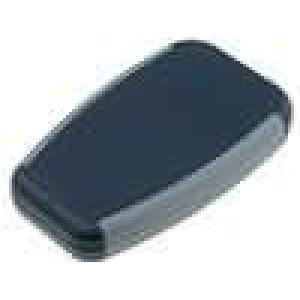 Krabička univerzální 1553 X:61mm Y:100mm Z:17mm ABS černá