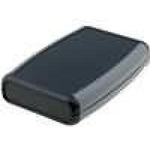 Krabička univerzální 1553 X:79mm Y:111mm Z:24mm ABS černá
