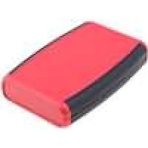 Krabička univerzální 1553 X:79mm Y:117mm Z:24mm ABS červená