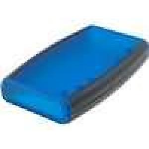 Krabička univerzální 1553 X:89mm Y:147mm Z:24mm ABS modrá