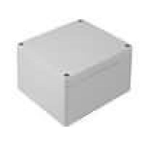 Krabička univerzální 1554 X:90mm Y:90mm Z:60mm ABS šedá UL94V-HB