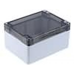 Krabička univerzální 1554 X:90mm Y:120mm Z:60mm polykarbonát