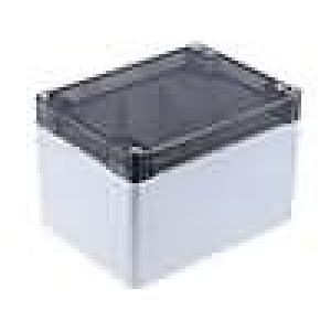 Krabička univerzální 1554 X:90mm Y:120mm Z:80mm polykarbonát