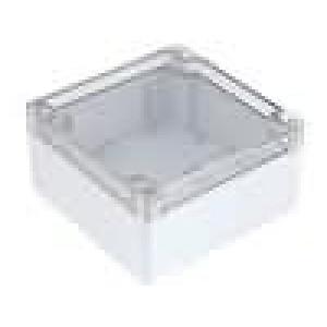 Krabička univerzální 1554 X:120mm Y:120mm Z:60mm polykarbonát