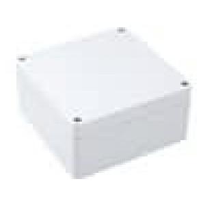 Krabička univerzální 1554 X:120mm Y:120mm Z:60mm ABS šedá