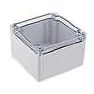 Krabička univerzální 1554 X:120mm Y:120mm Z:80mm polykarbonát