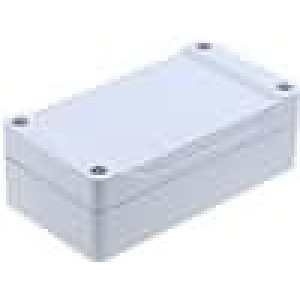 Krabička univerzální 1555 X:65mm Y:120mm Z:40mm ABS šedá IP66