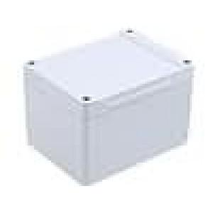 Krabička univerzální 1555 X:90mm Y:120mm Z:80mm ABS šedá IP66