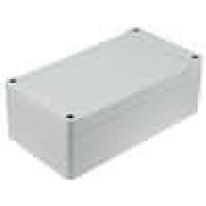 Krabička univerzální 1555 X:90mm Y:160mm Z:60mm ABS šedá IP66