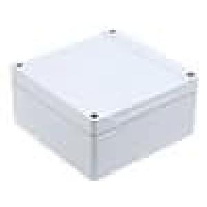 Krabička univerzální 1555 X:120mm Y:120mm Z:60mm ABS šedá IP66
