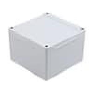 Krabička univerzální 1555 X:120mm Y:120mm Z:80mm ABS šedá IP66