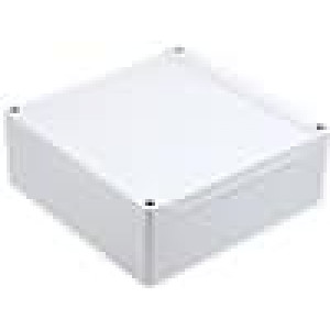 Krabička univerzální 1555 X:160mm Y:160mm Z:60mm ABS šedá IP66