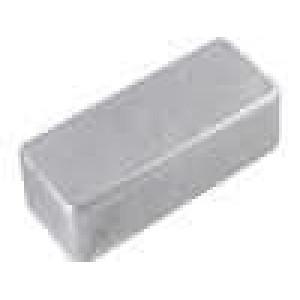 Krabička univerzální 1590 X:39mm Y:93mm Z:27mm hliník šedá IP54