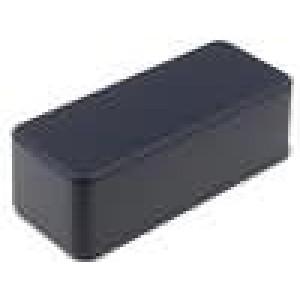 Krabička univerzální 1590 X:39mm Y:93mm Z:31mm hliník černá IP54