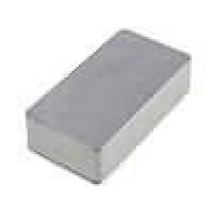 Krabička univerzální 1590 X:60mm Y:112mm Z:27mm hliník šedá IP54