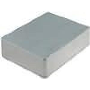 Krabička univerzální 1590 X:94mm Y:119mm Z:30mm hliník šedá IP54