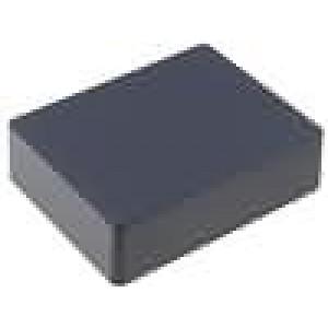 Krabička univerzální 1590 X:94mm Y:119mm Z:30mm hliník černá