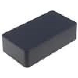 Krabička univerzální 1590 X:60mm Y:112mm Z:31mm hliník černá