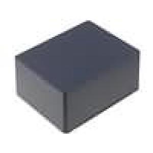 Krabička univerzální 1590 X:94mm Y:120mm Z:57mm hliník černá