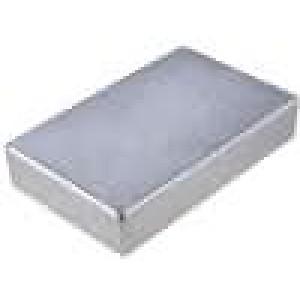 Krabička univerzální 1590 X:119,5mm Y:188mm Z:33mm hliník šedá