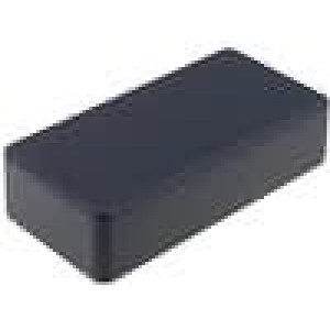 Krabička univerzální 1590 X:50mm Y:100mm Z:25mm hliník černá