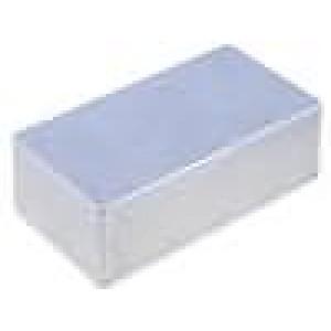 Krabička univerzální 1590 X:66mm Y:121mm Z:39mm hliník šedá IP54