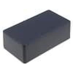 Krabička univerzální 1590 X:66mm Y:121mm Z:39mm hliník černá