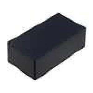 Krabička univerzální 1590 X:82mm Y:153mm Z:50mm hliník černá