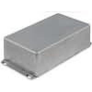 Krabička univerzální 1590 X:111mm Y:192mm Z:57mm hliník šedá