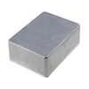 Krabička univerzální 1590 X:82mm Y:111mm Z:40mm hliník šedá IP54