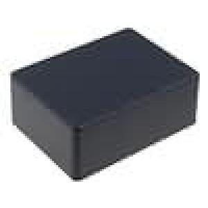Krabička univerzální 1590 X:82mm Y:111mm Z:44mm hliník černá