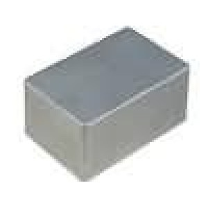 Krabička univerzální 1590 X:80mm Y:120mm Z:55mm hliník šedá IP54