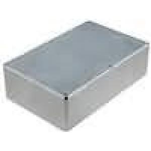 Krabička univerzální 1590 X:120mm Y:188mm Z:52mm hliník šedá