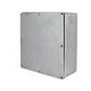Krabička univerzální 1590 X:187,5mm Y:187,5mm Z:63mm hliník šedá