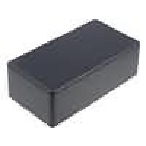 Krabička univerzální 1591 X:80mm Y:150mm Z:50mm ABS černá IP54