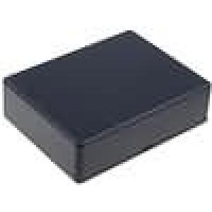 Krabička univerzální 1591 X:94mm Y:121mm Z:34mm ABS černá IP54